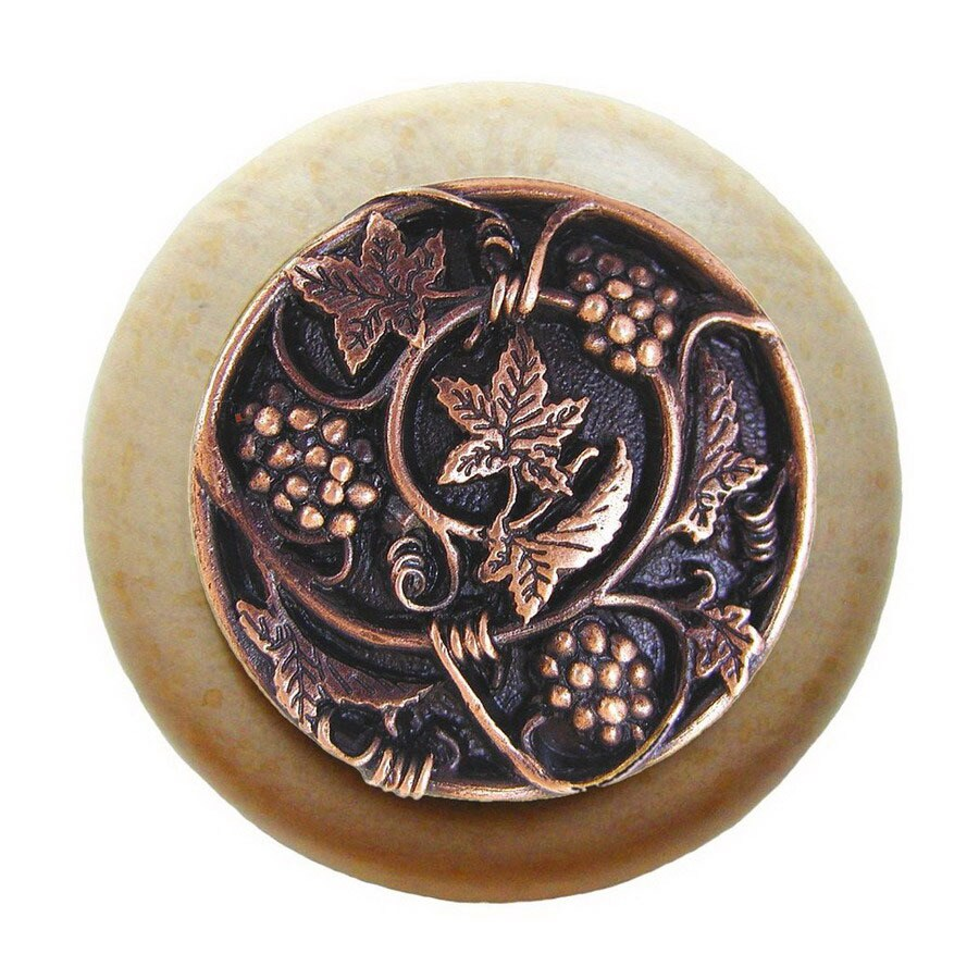 Notting Hill 1-1/2-in Copper Tuscan Round Cabinet Knob