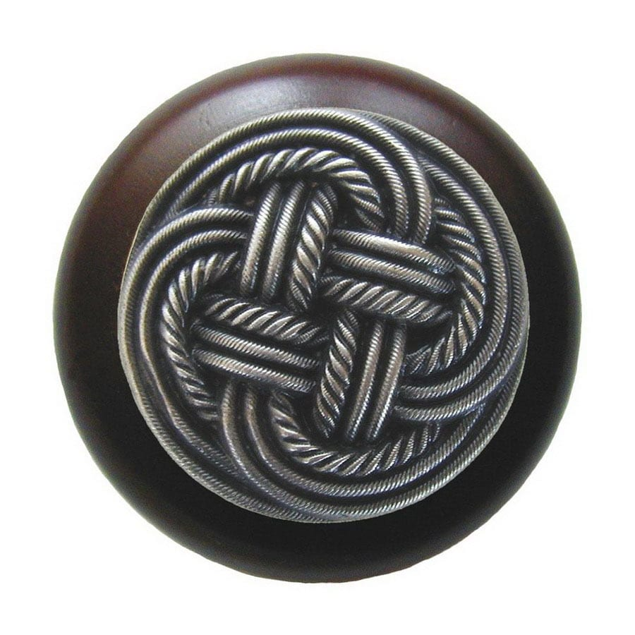 Notting Hill 1-1/2-in Pewter Classic Round Cabinet Knob