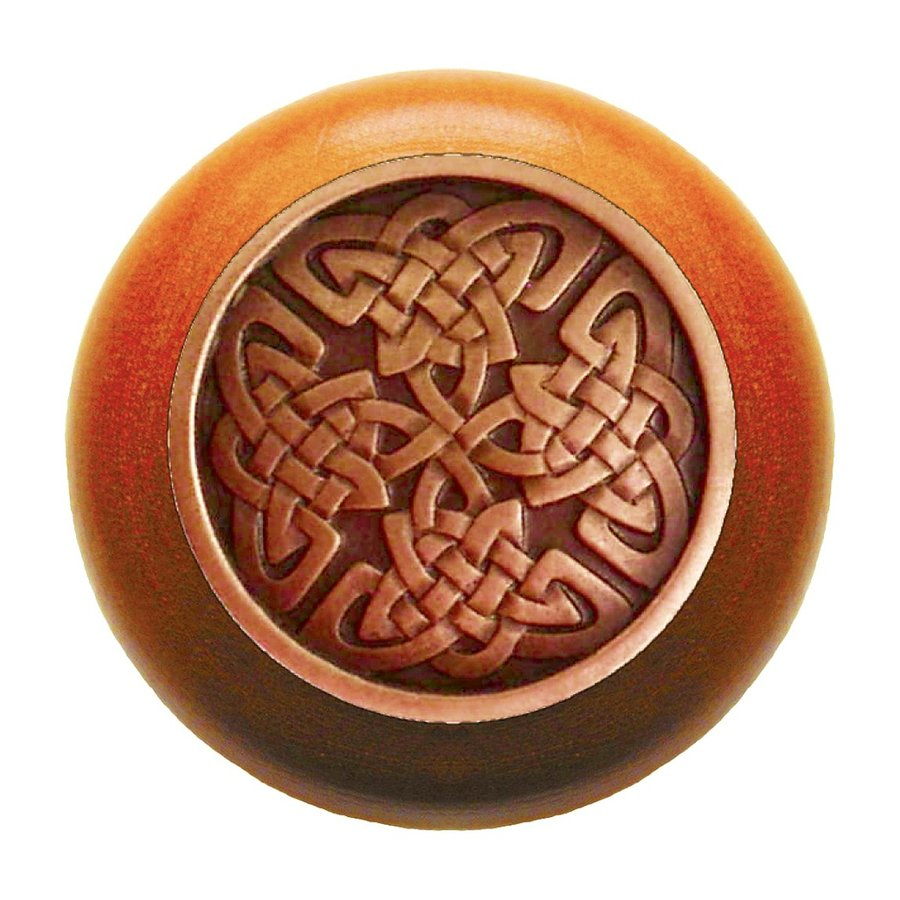 Notting Hill 1-1/2-in Copper Jewel Round Cabinet Knob