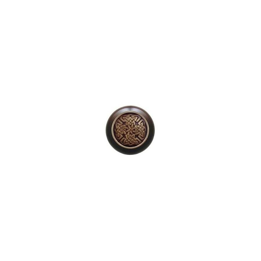 Notting Hill 1-1/2-in Brass Jewel Round Cabinet Knob