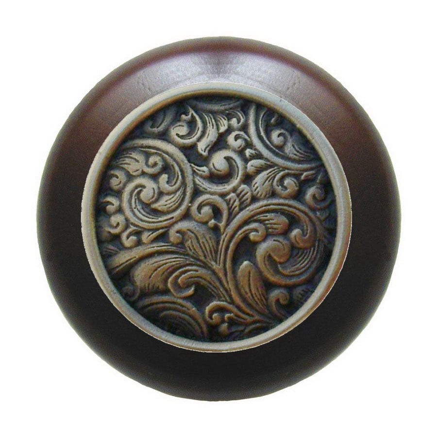 Notting Hill 1-1/2-in Bronze Classic Round Cabinet Knob