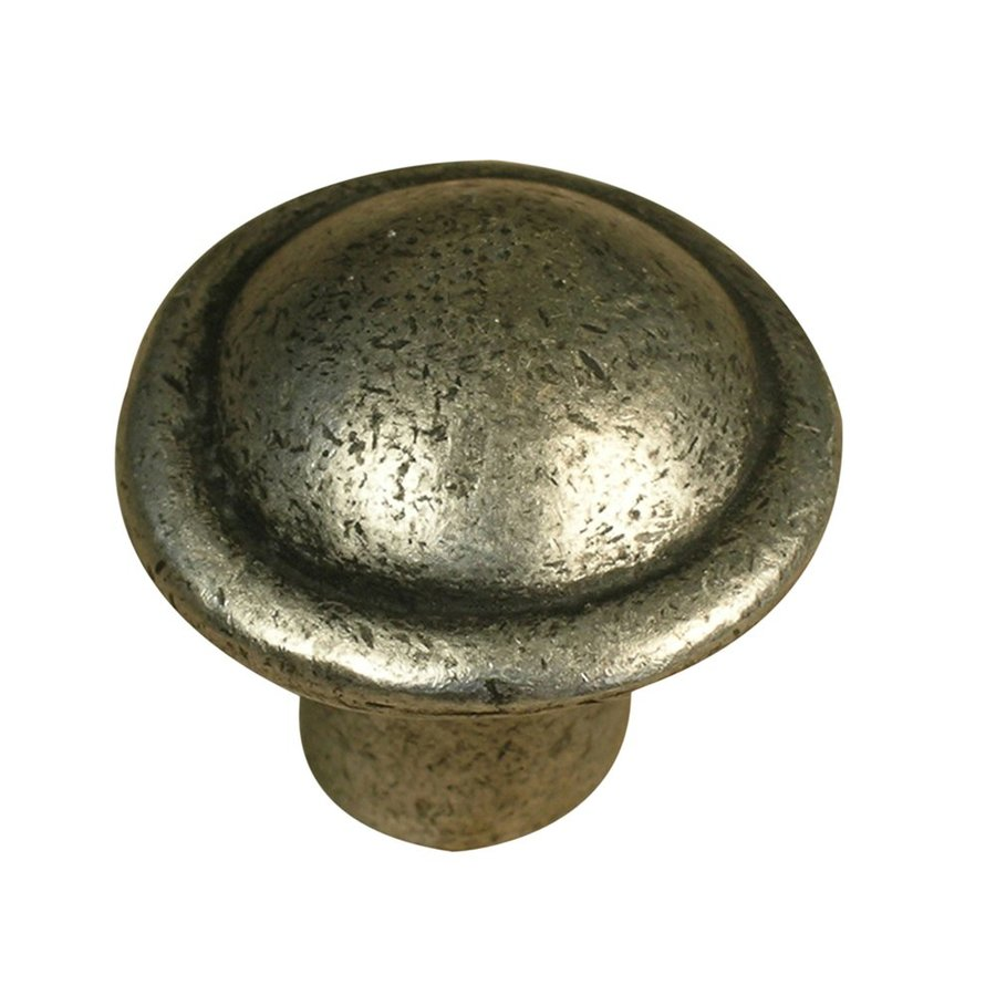 Anne at Home Classic Matte Pewter Round Cabinet Knob