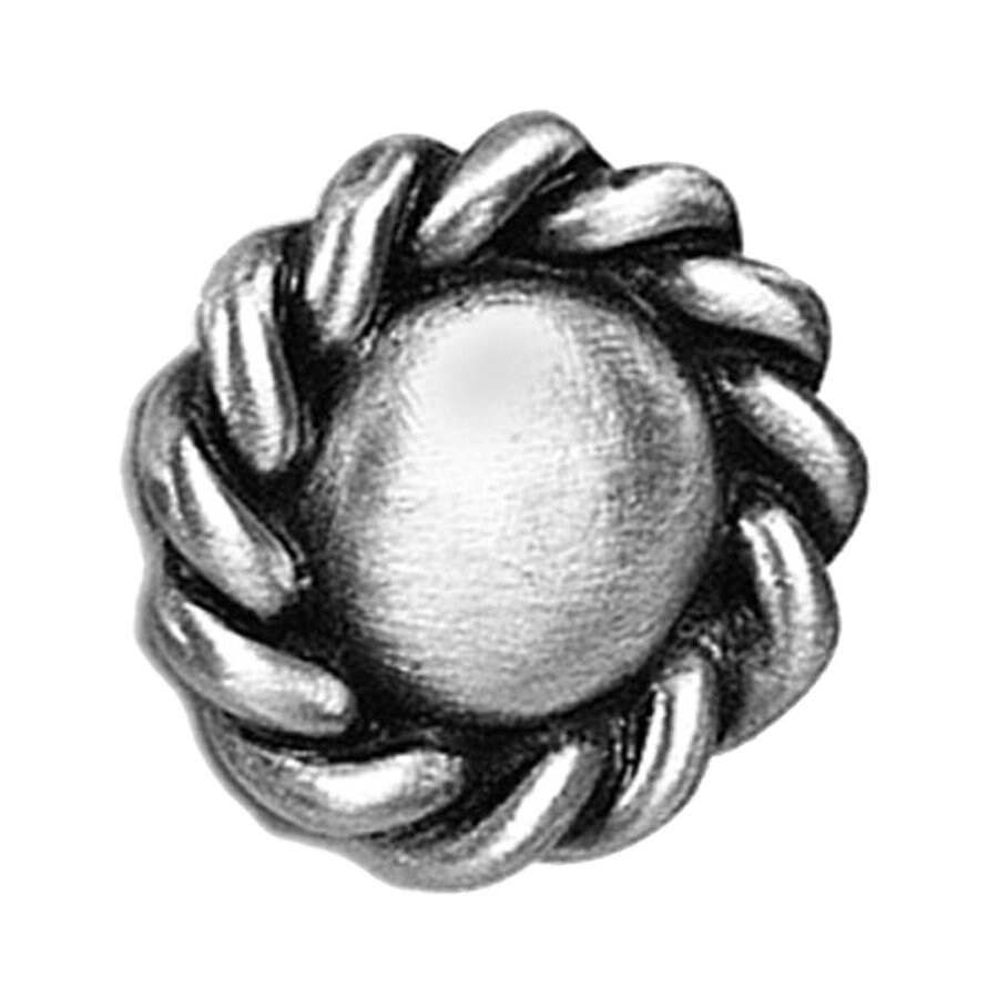Anne at Home Roguery Satin Pewter Round Cabinet Knob