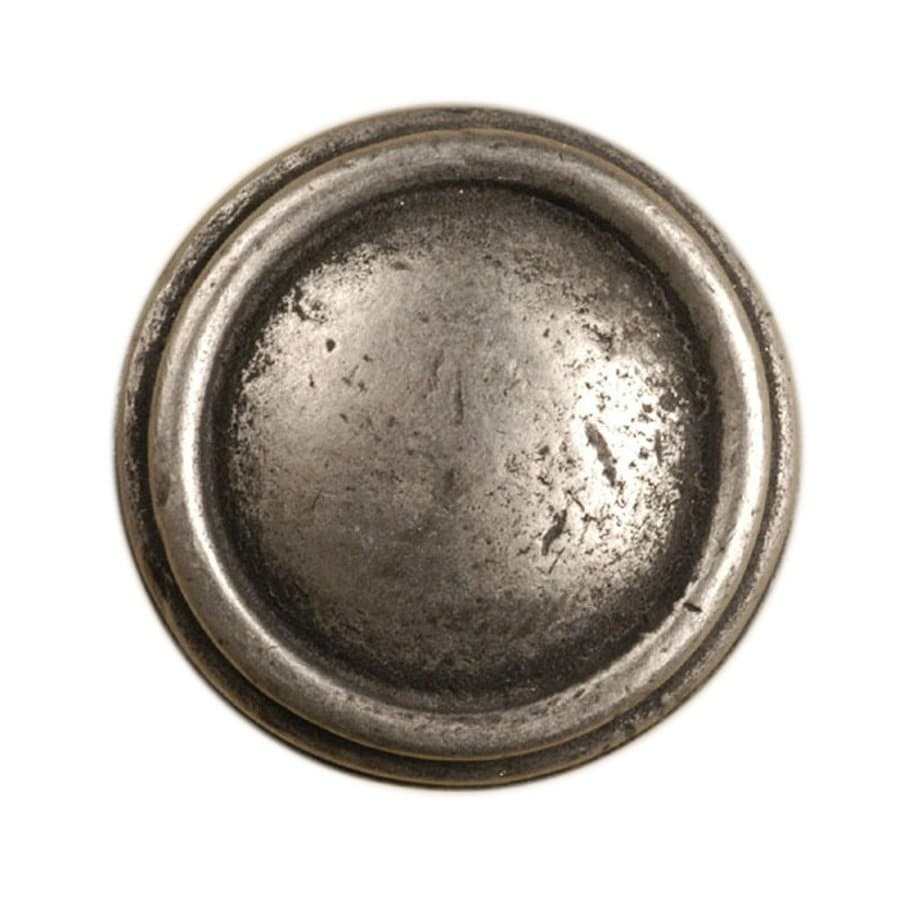 Anne at Home Sonnet Pewter Matte Round Cabinet Knob
