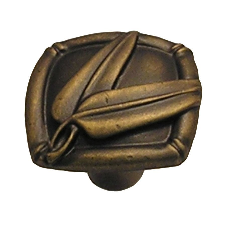 Anne at Home Bamboo Bronze Rubbed Novelty Cabinet Knob