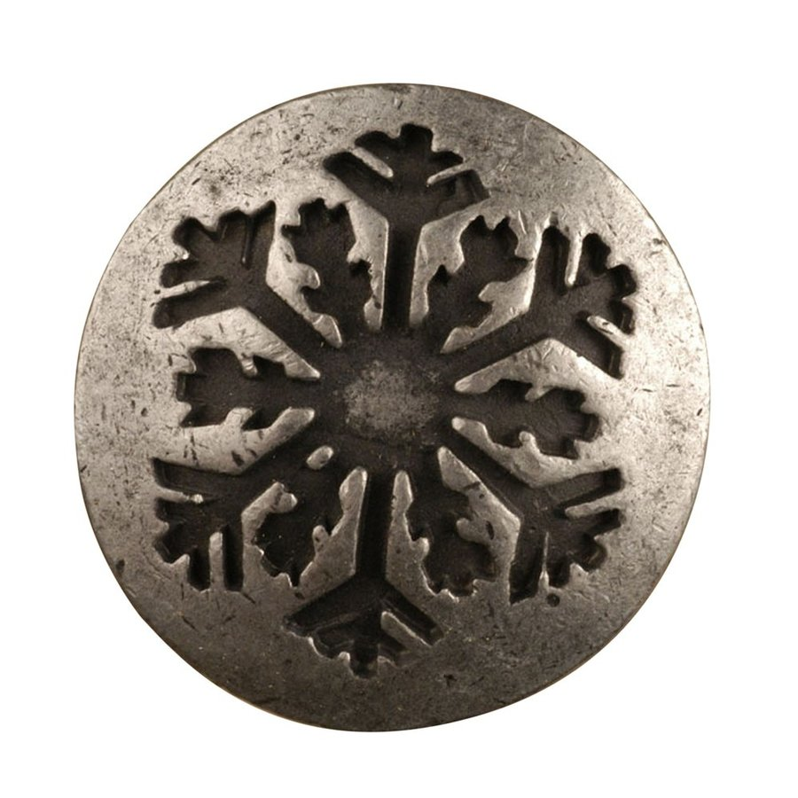 Anne at Home Lodge and Outdoors Matte Pewter Round Cabinet Knob