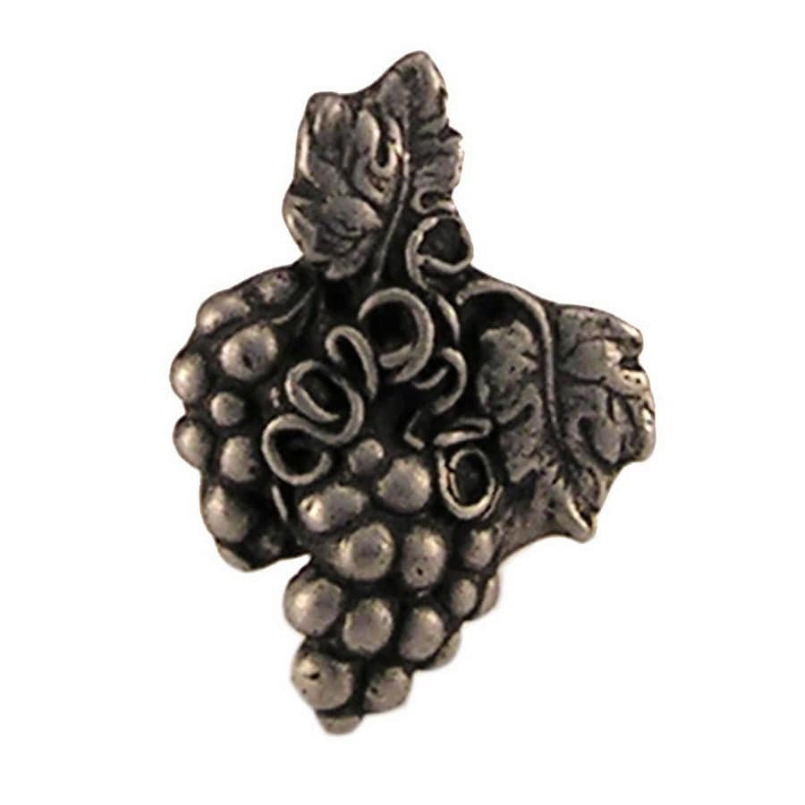 Shop Anne at Home Wine and Grapes Pewter Matte Novelty Cabinet ...