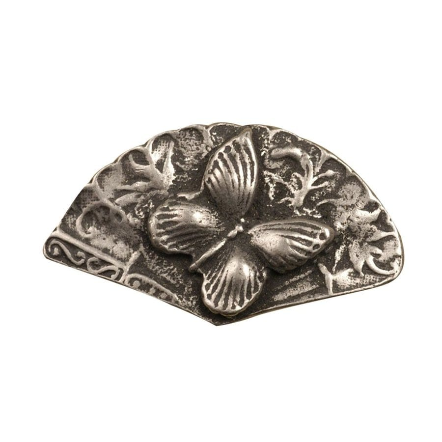 Anne at Home Bees Birds Butterflies Pewter Matte Novelty Cabinet Knob