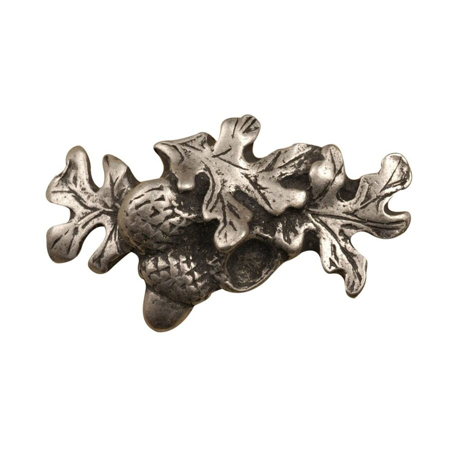 Anne at Home Gardening and Flowers Matte Pewter Novelty Cabinet Knob