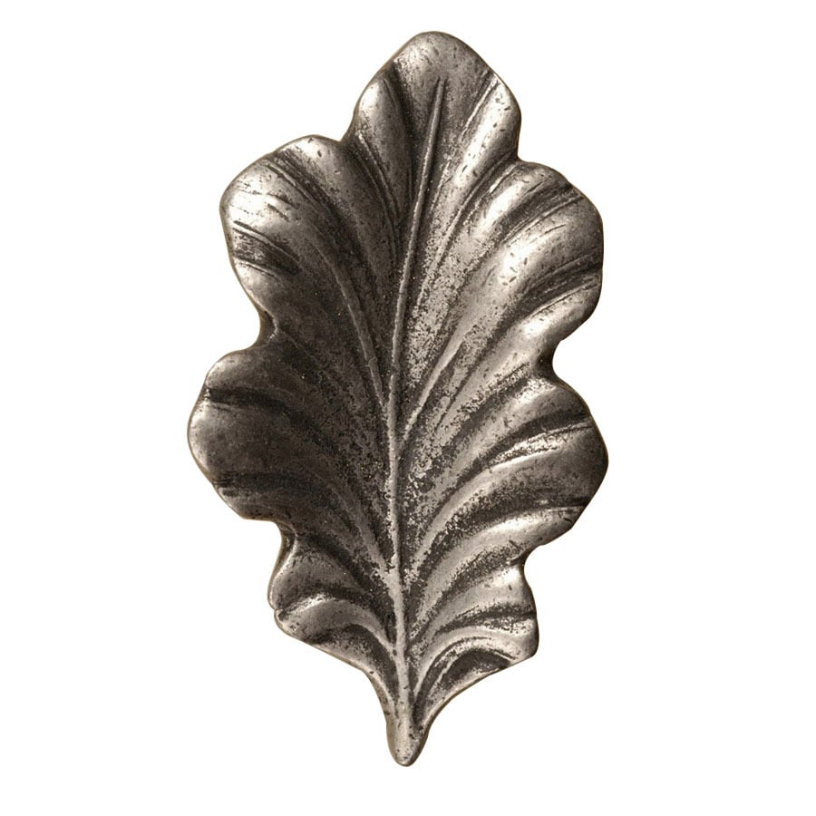 Anne at Home Leaves Pewter Matte Novelty Cabinet Knob