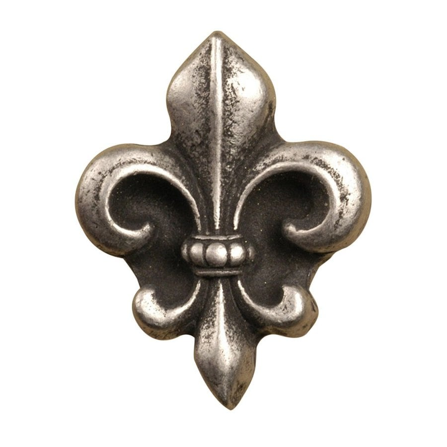 Anne at Home French Country Matte Pewter Novelty Cabinet Knob