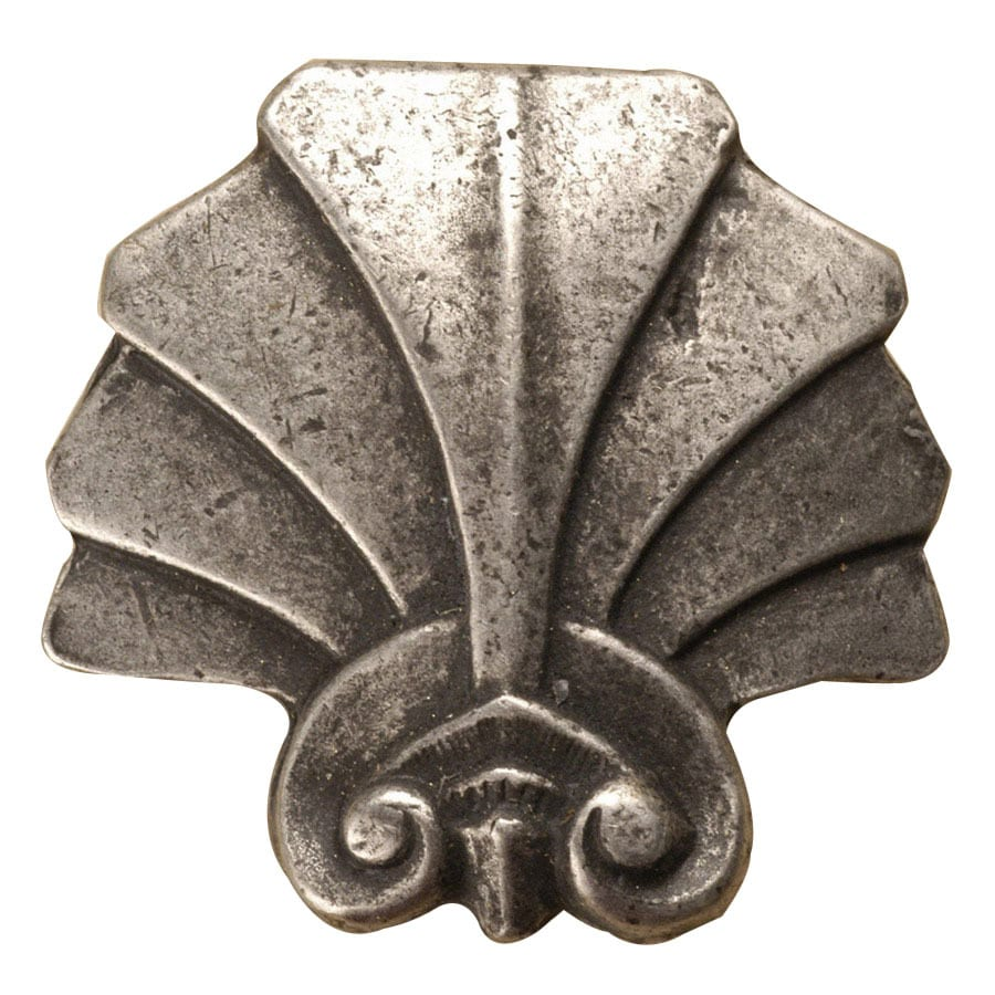 Anne at Home By-The-Sea Pewter Matte Novelty Cabinet Knob