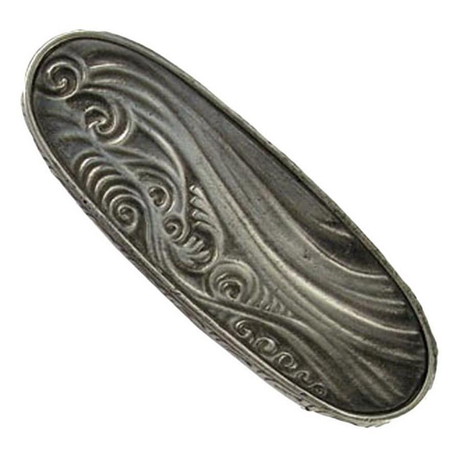 Anne at Home 3-in Center-to-Center Pewter Pacific Dreams Cabinet Pull