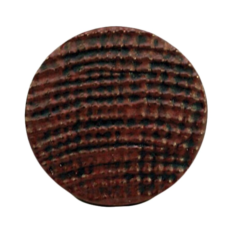 Anne at Home Pacific Dreams Rust with Black Wash Round Cabinet Knob