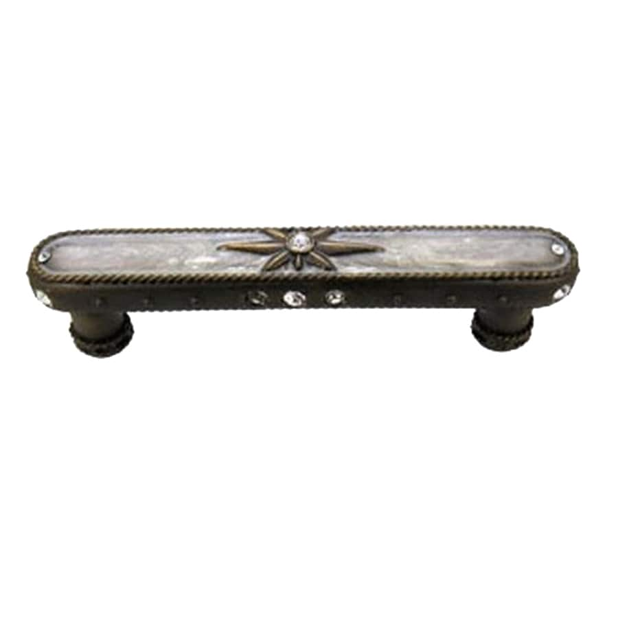 Anne at Home 4-In Center-To-Center Bronze Rubbed Northern Lights Bar Cabinet Pull