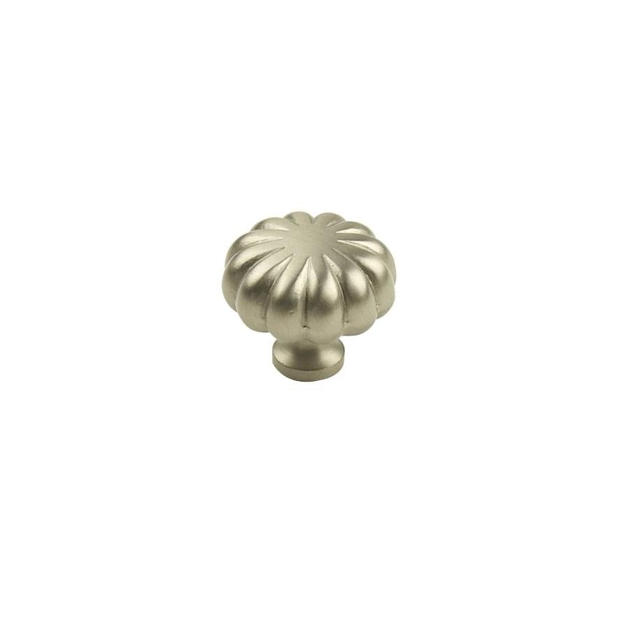 Century Hardware Plymouth Dull Satin Nickel Mushroom Cabinet Knob