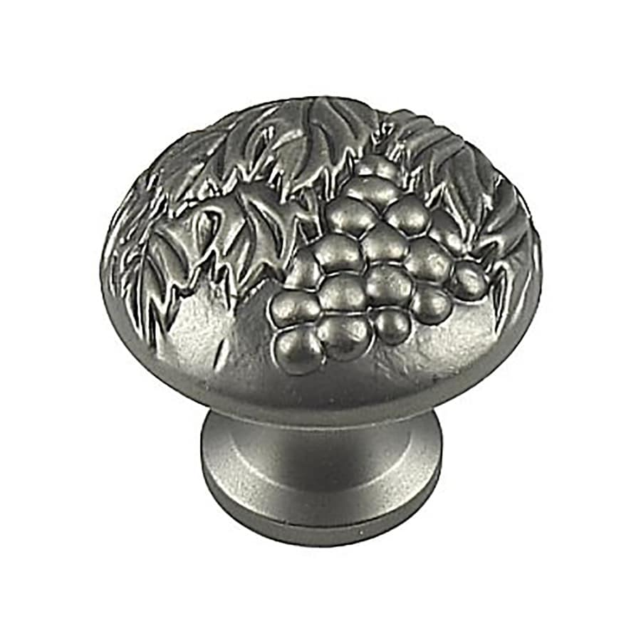 Century Hardware Vineyard Antique Nickel Mushroom Cabinet Knob