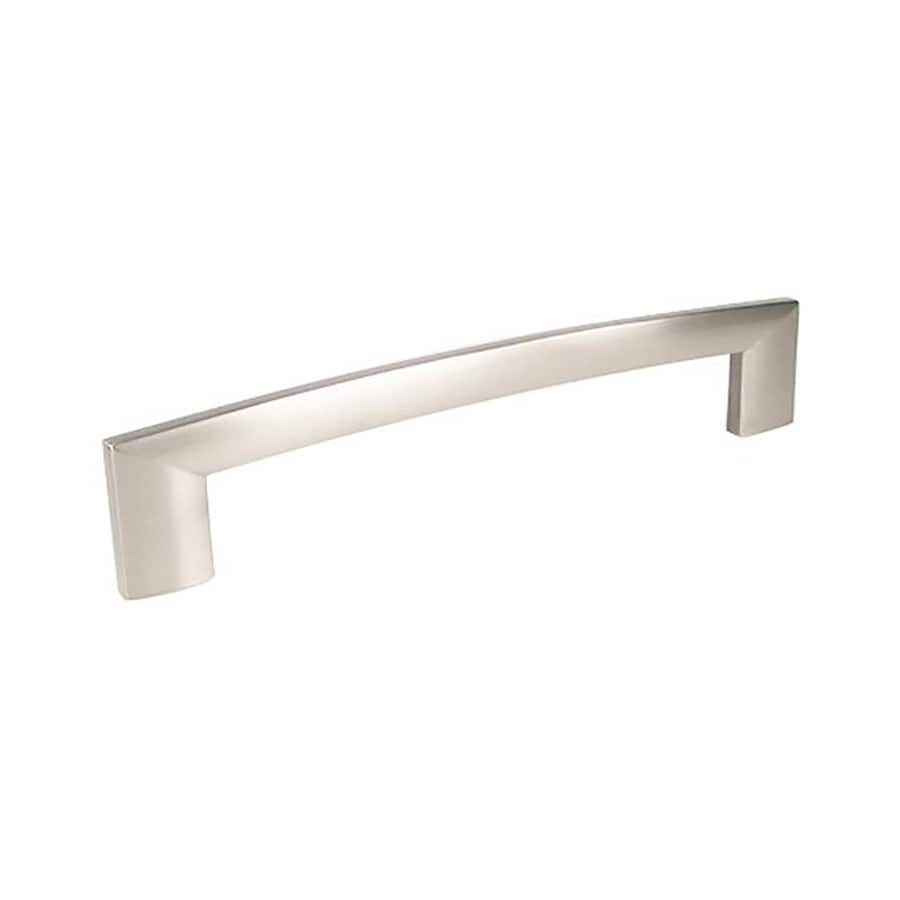 Century Hardware 160Mm Center-To-Center Dull Satin Nickel Villon Rectangular Cabinet Pull