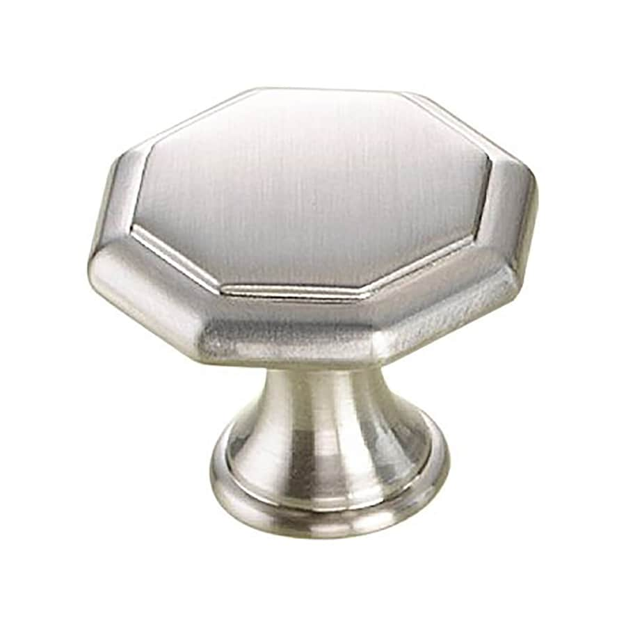 Century Hardware Apac Satin Nickel Octangular Cabinet Knob