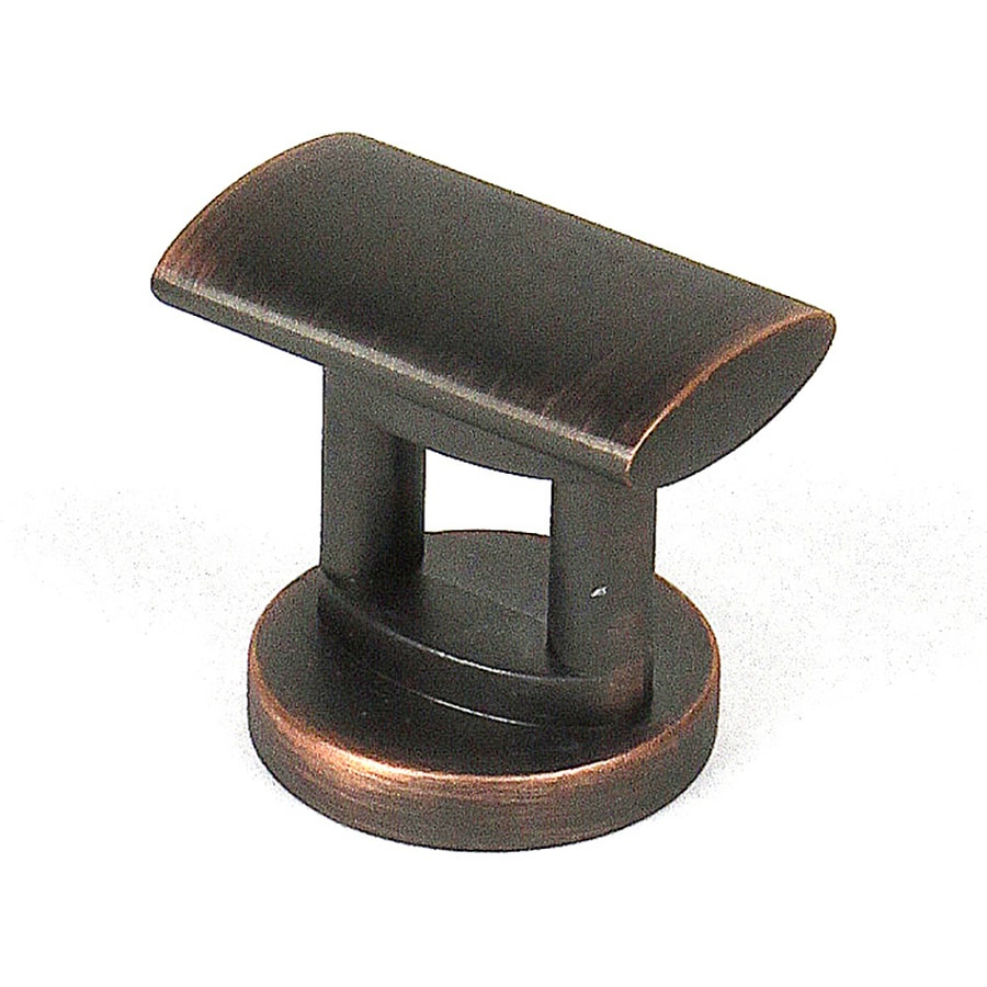 Century Hardware Monarch Antique Bronze/Copper Rectangular Cabinet Knob
