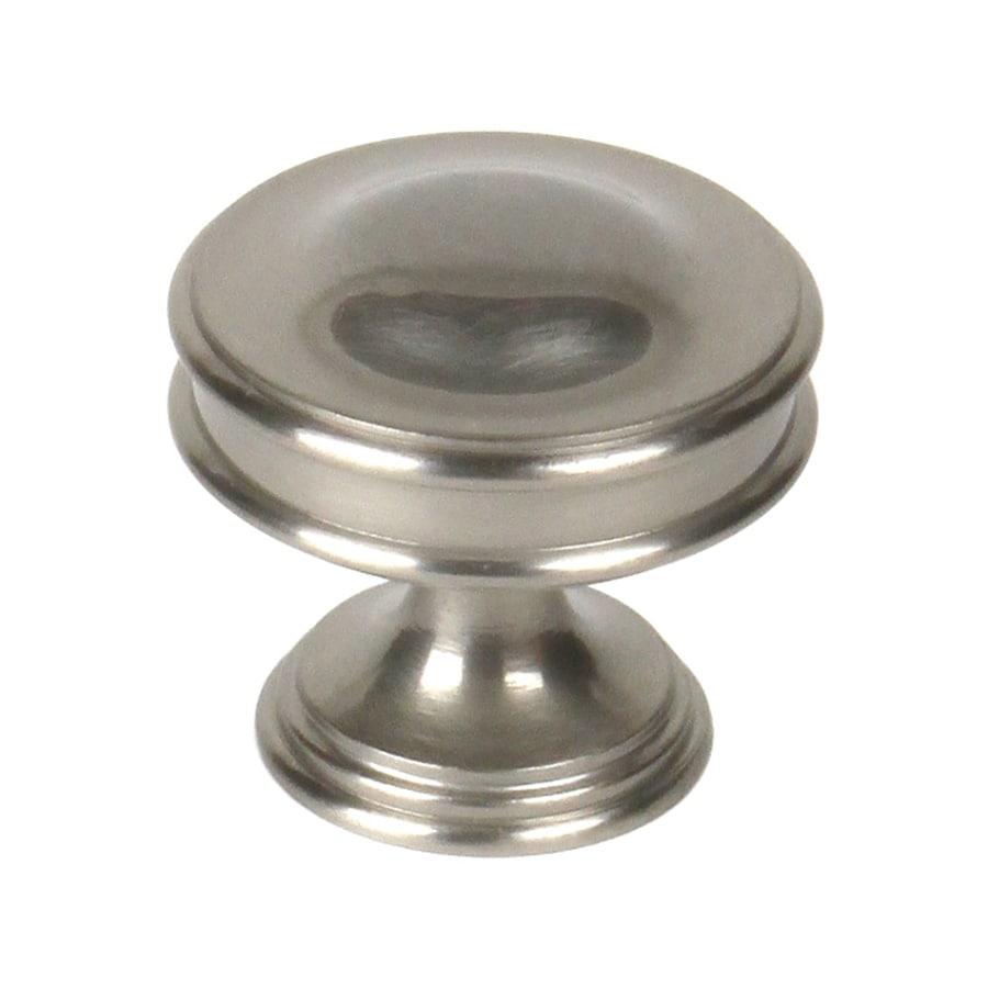 Century Hardware Belvedere Matte Satin Nickel Round Cabinet Knob