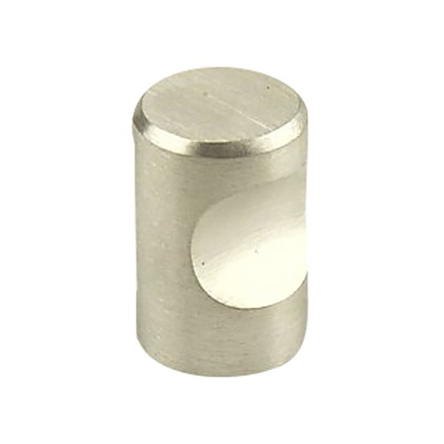 Century Hardware Stainless Brushed Round Cabinet Knob