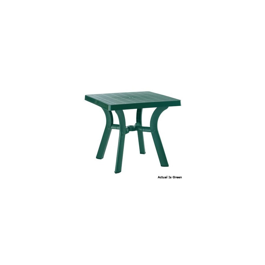 Compamia 31-in x 31-in Resin Square Patio Dining Table