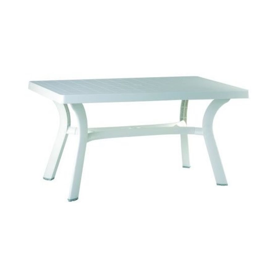 Compamia Sunrise 31-in W x 55-in L Rectangle Resin Dining Table