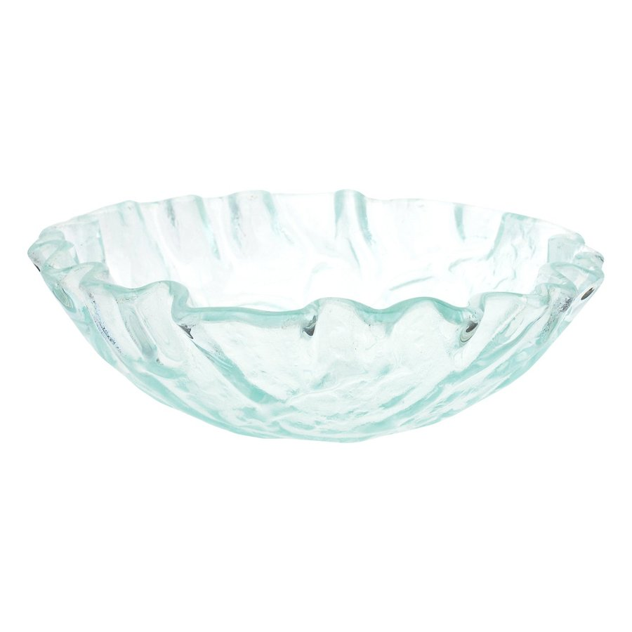 Superior Eden Bath Clear Glass Vessel Round Bathroom Sink