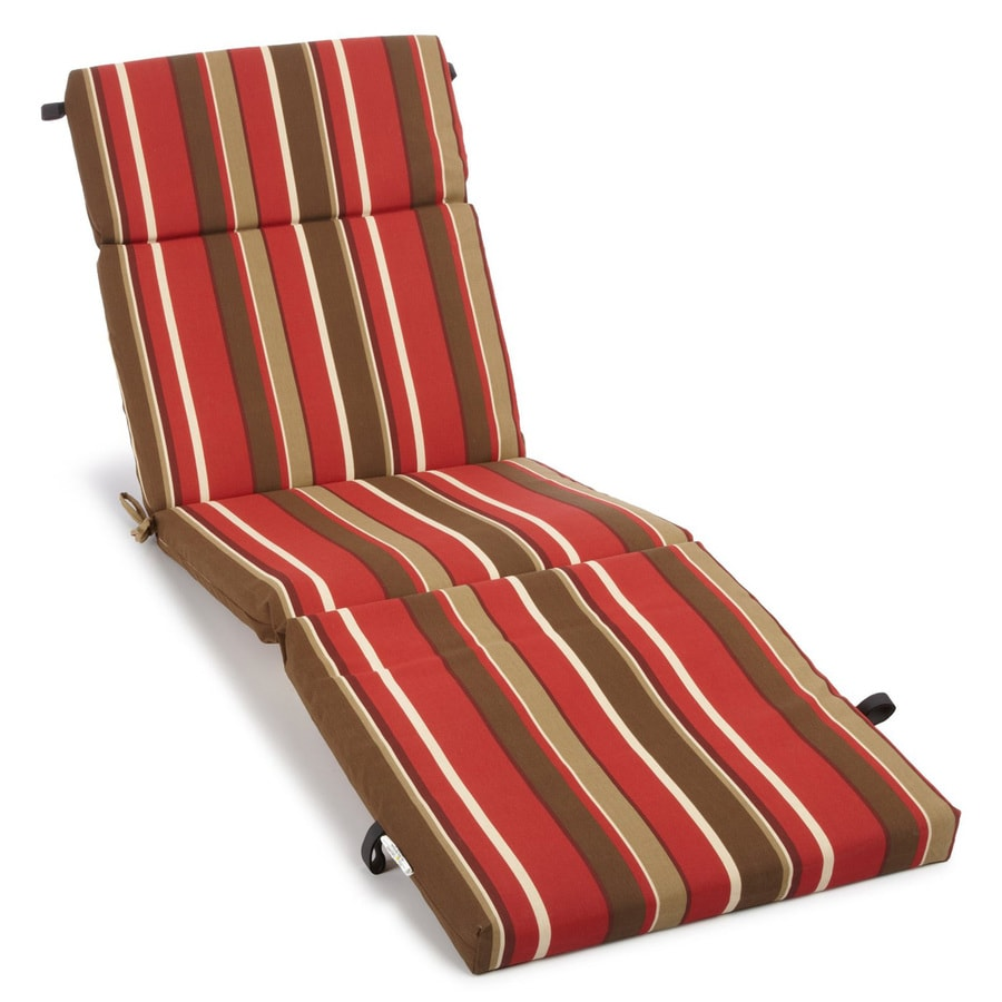 Shop blazing needles monserrat sangria stripe standard for Blazing needles chaise cushion