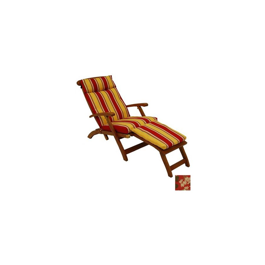 Shop blazing needles montfleuri sangria patio chaise for Blazing needles chaise cushion