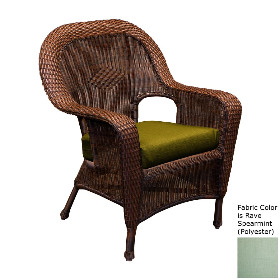 Tortuga Outdoor Lexington Java Wicker Patio Dining Chair