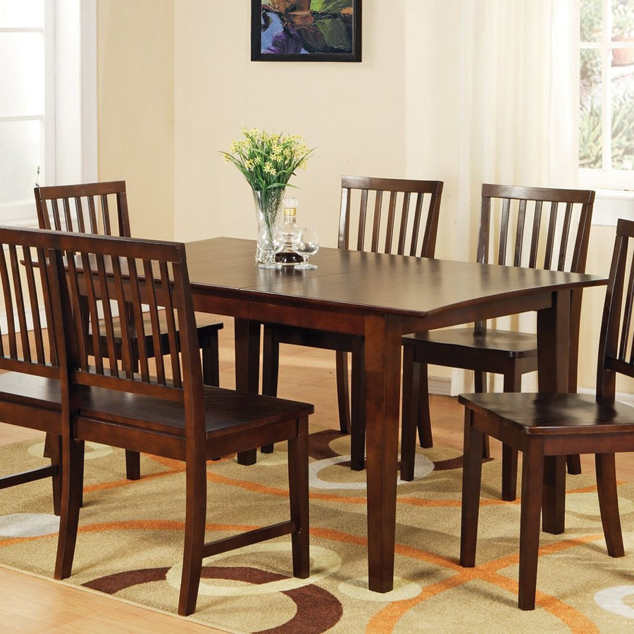Steve Silver Company Branson Espresso Rectangular Dining Table