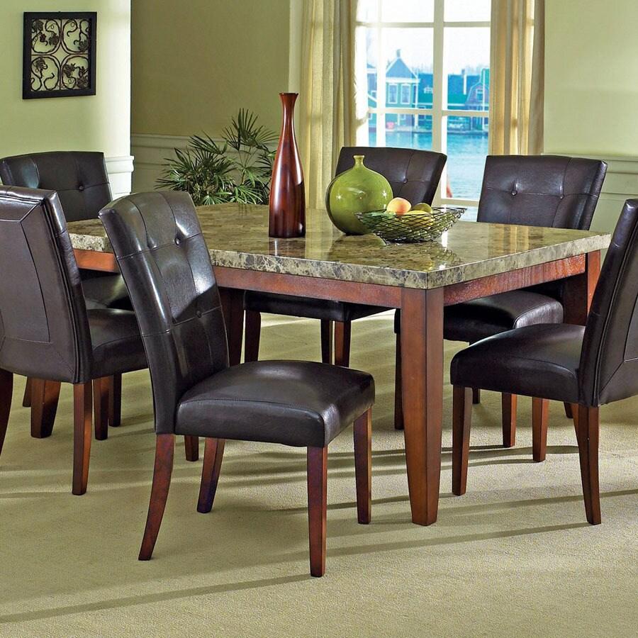 Steve Silver Company Montibello Cherry Rectangular Dining Table