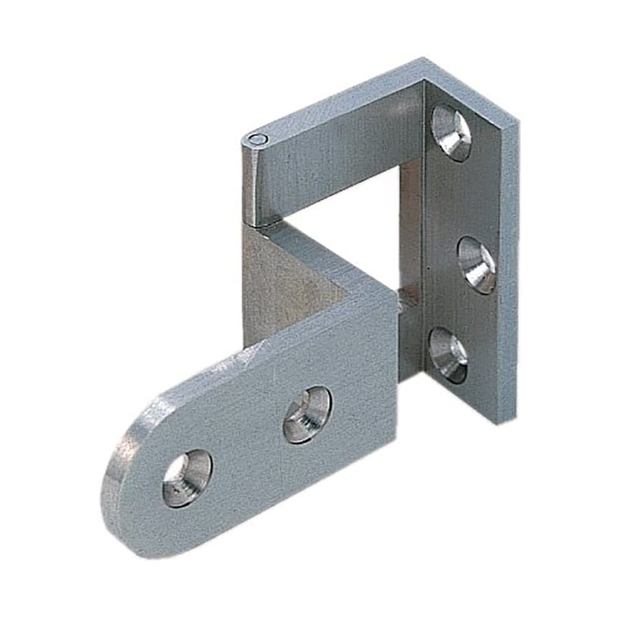 Sugatsune 40mm x 40mm Satin Nickel Cranked Cabinet Hinge