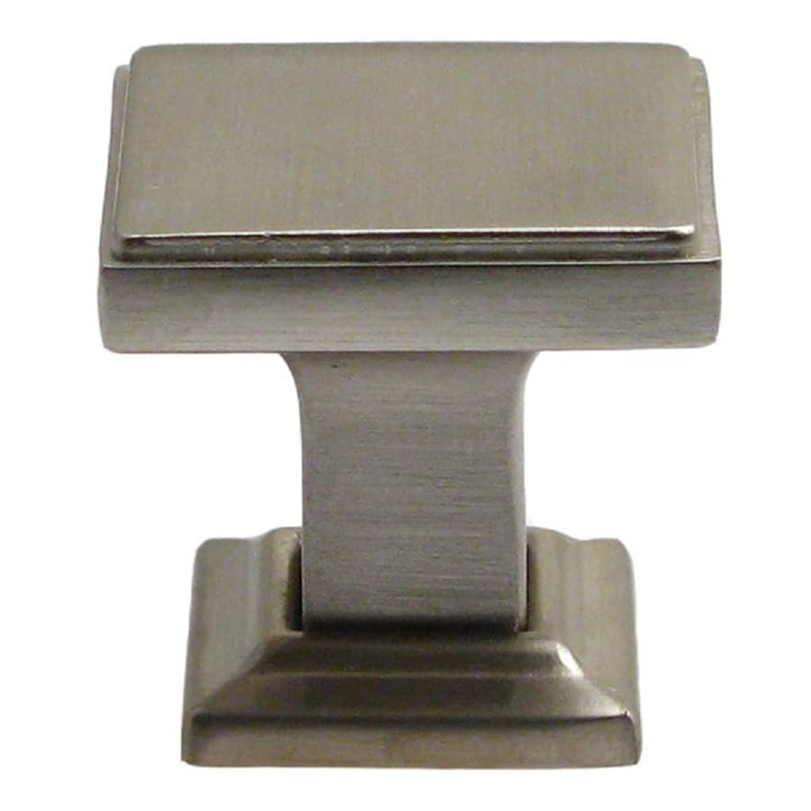 Rusticware Modern Satin Nickel Square Cabinet Knob