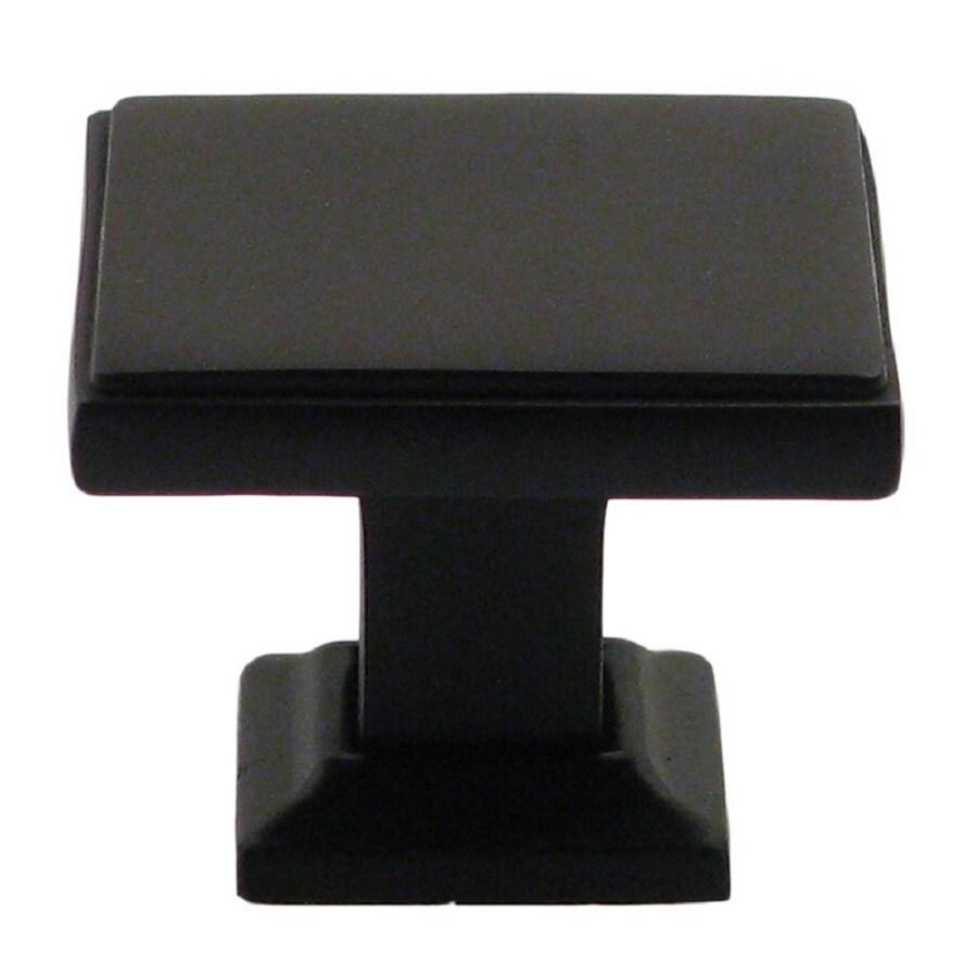 Rusticware Modern Oil-Rubbed Bronze Square Cabinet Knob