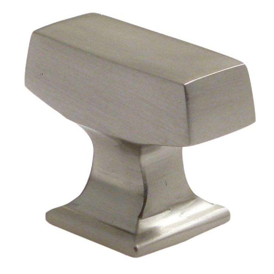 Rusticware Modern Satin Nickel Rectangular Cabinet Knob