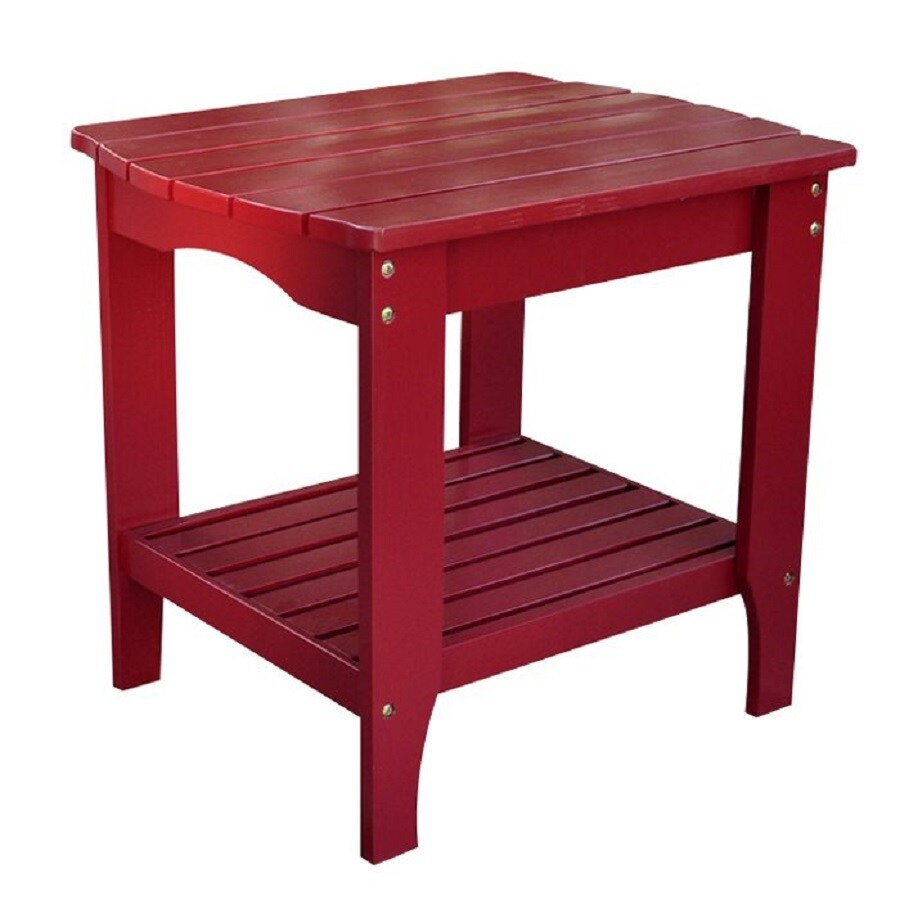 Shine Company 19-in W x 24-in L Rectangle Cedar End Table