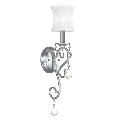 Livex Lighting Newcastle 5 In W 1 Light Brushed Nickel