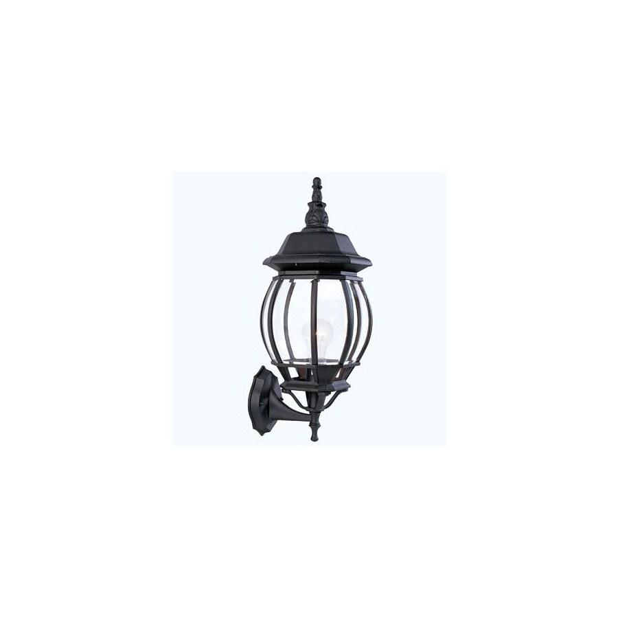 Livex Lighting Basics 18-in Black Outdoor Wall Light