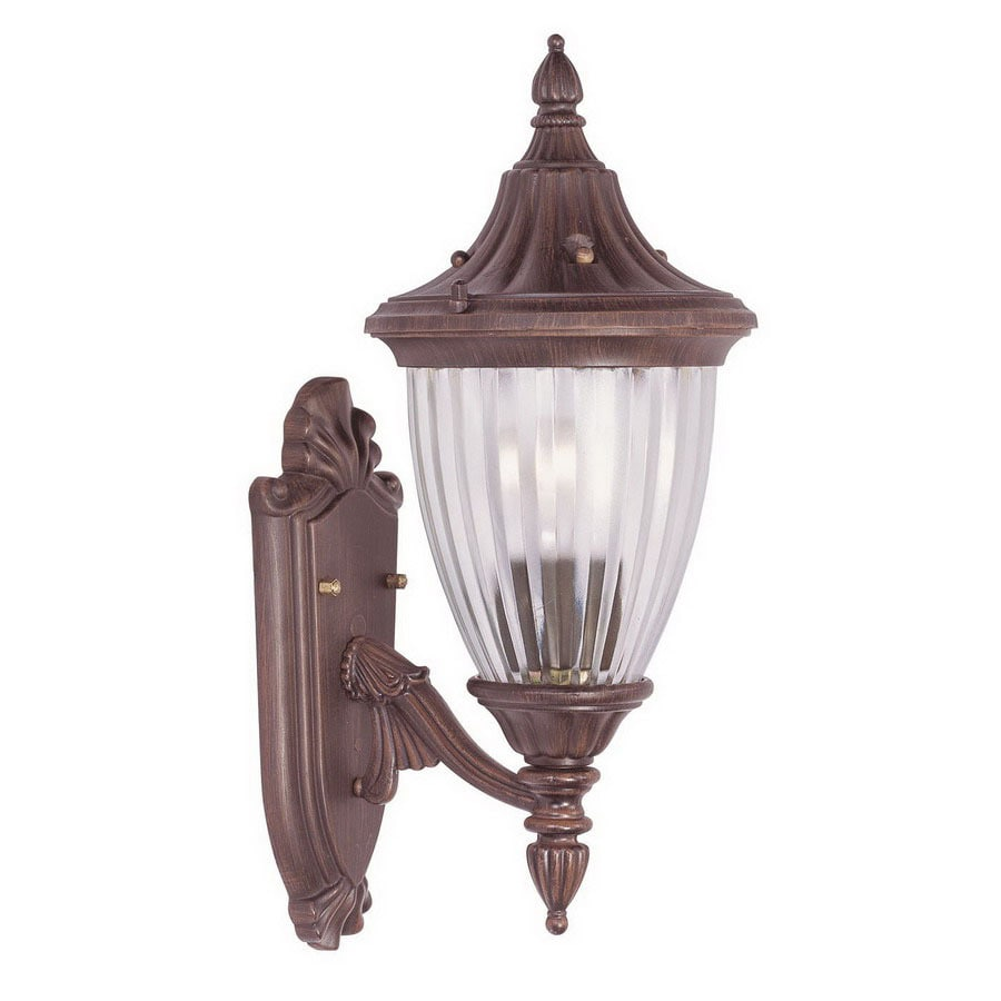 Livex Lighting Townsend 17-in Imperial Bronze Outdoor Wall Light