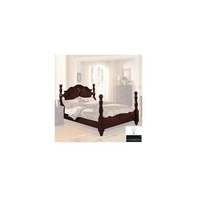 Furniture of America Tuscan Dark Pine California King Four ...