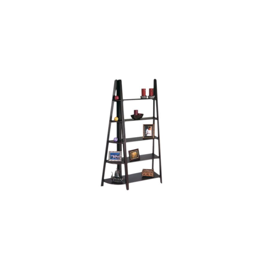 Office Star Osp Designs Espresso 72-in 10-Shelf Bookcase