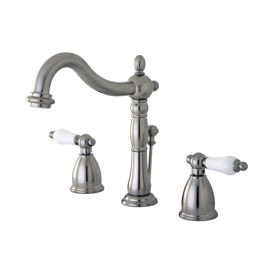 Elements of Design New Orleans Satin Nickel 2-handle Widespread Bathroom Sink Faucet