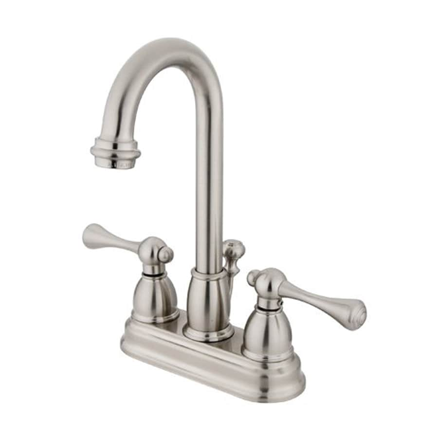 bathroom fixtures chicago shop elements of design chicago satin nickel 2 handle 4 in 10588