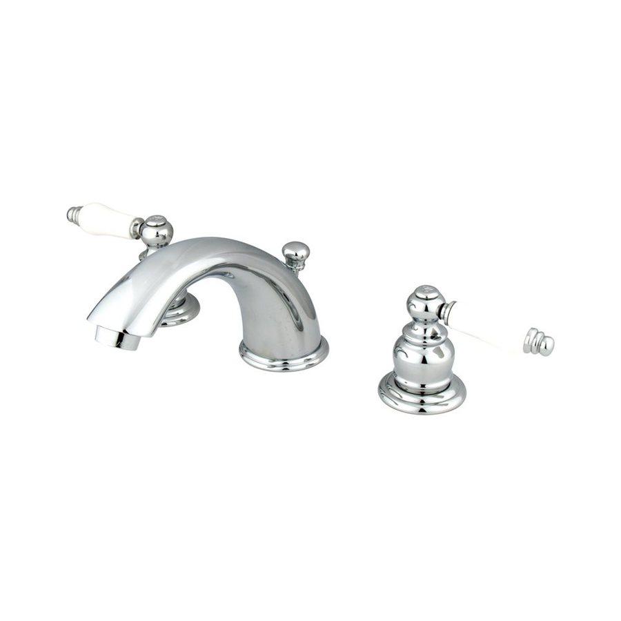 Elements of Design Chrome 2-Handle Widespread Bathroom Faucet