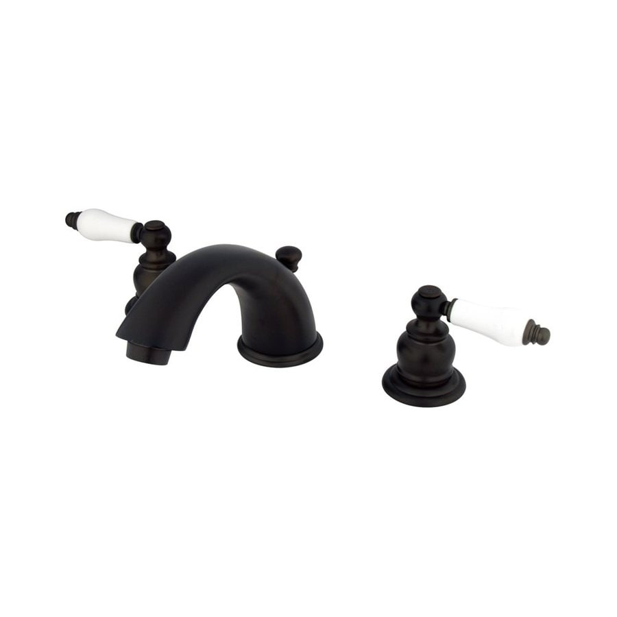 Elements of Design Oil-Rubbed Bronze 2-Handle Widespread Bathroom Faucet