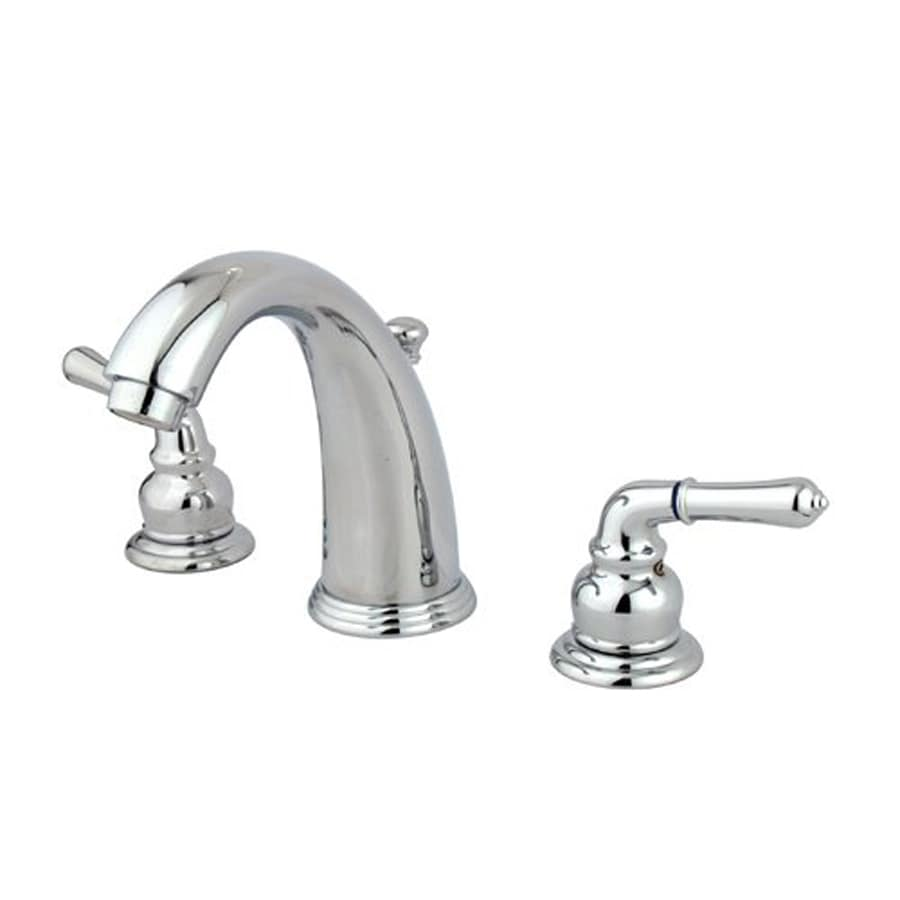 Elements of Design Magellan Chrome 2-Handle Widespread Bathroom Faucet (Drain Included)