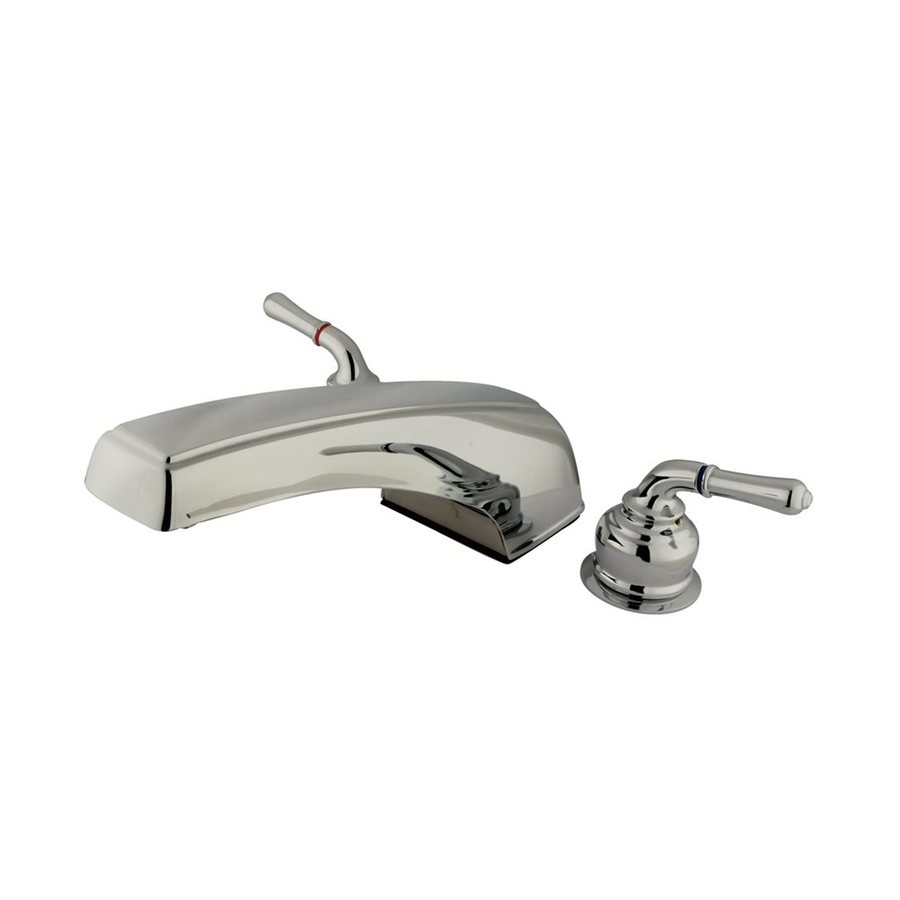Elements of Design Magellan Chrome 2-Handle-Handle Adjustable Deck Mount Bathtub Faucet
